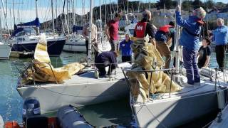 J24s at Howth Yacht Club