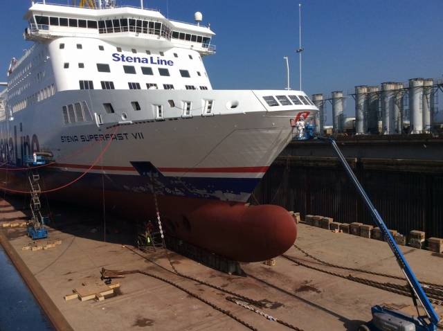 Nine of the 11-strong Stena Line Irish Sea fleet are to undergo a £7m annual refit contract at Harland & Wolff, Belfast