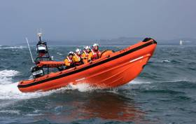 Portaferry RNLI's inshore lifeboat Blue Peter V