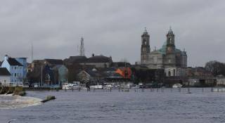 Athlone on the River Shannon