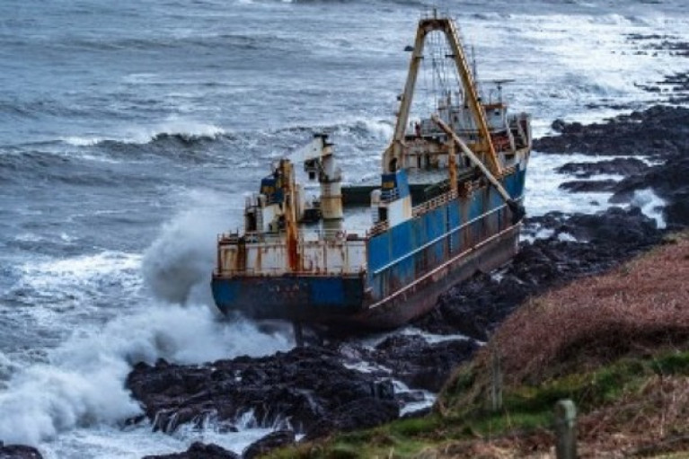 The Irish Coast Guard has warned the 'ghost ship' Alta could be 'pilfered' and urged Cork County Council to provide security.