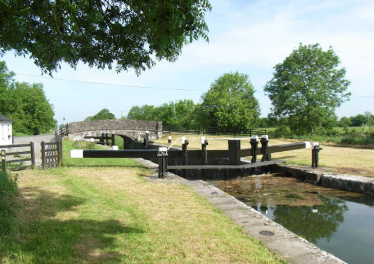 The 34th Lock on the Royal Canal at Balroe, Co Westmeath