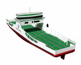 The same shipyard that built Strangford Lough ferry M.V. Strangford II in 2016, Cammell Laird on Merseyside, has been contracted a £10m order for a ro-ro 'freight' ferry from a Isle of Wight operator, Red Funnel