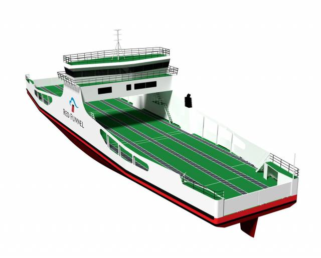 Irish Sea Shipyard to Build Isle of Wight 'Freight' Ferry