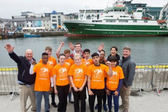 The voyage will head for Limerick with eight teenagers from six countries including Ireland on board, as part of a Safe Haven Ireland voyage.