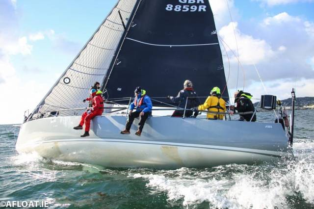 J125 'Jacknife' Leads ISORA Fleet into Second Offshore Race at Dun Laoghaire