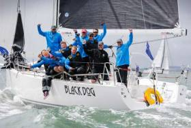Stuart Sawyer's J/122 Black Dog - 2019 IRC National Champions