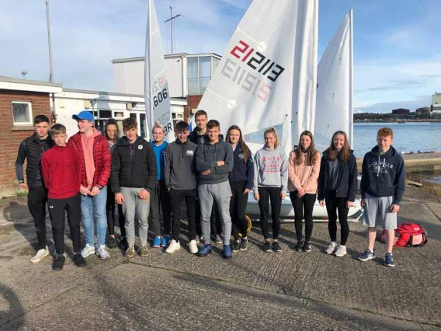 Northern Ireland youth sailors selected for the Laser Youth Performance Programme