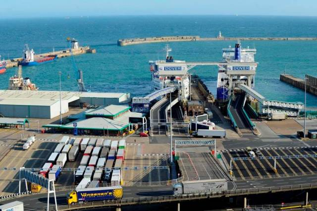 The UK and also Europe's busiest ferryport, Port of Dover. The company stated that the record freight figures (including Irish trade) underline the need for a post-Brexit trade deal that ensures continued traffic fluidity at this crucial export/import gateway.