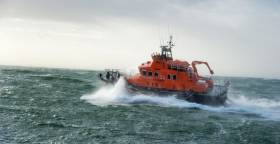 Rosslare RNLI on exercise