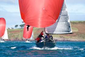 Nine race wins from ten starts easily sealed victory for Conor Phelan's Ker 37 Jump Juice in IRC One at the CH Marine Autumn League. Scroll down the page for Photo Gallery below