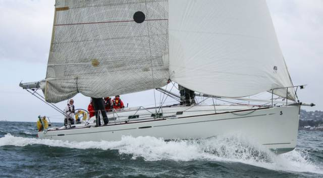 Dublin Bay Sailing Club Results for Thursday, 25 May 2017