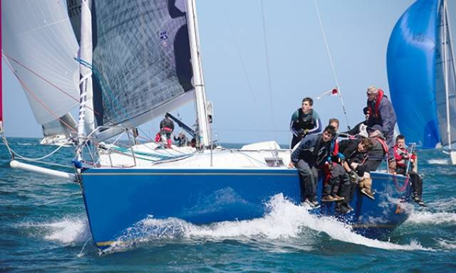 National Yacht Club's 'Something Else' Wins Class Two at Scottish Series
