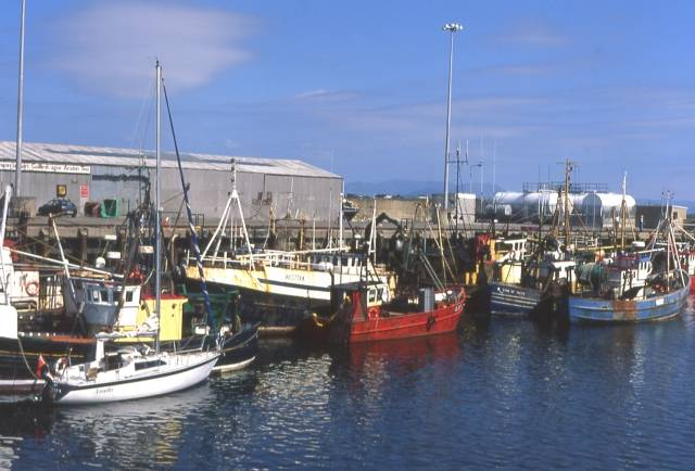 Ros a Mhil in Connemara where Galway Council Council has approved funding for harbour