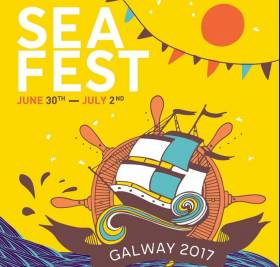 SeaFest runs from June 30th t July 2nd 2017 in Galway