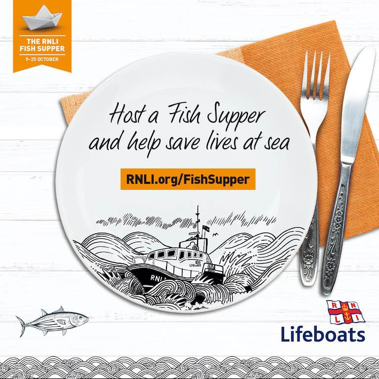 Derry Clarke Does Scallops for the RNLI: Host a Fish Supper & Help the RNLI Save Lives This Autumn