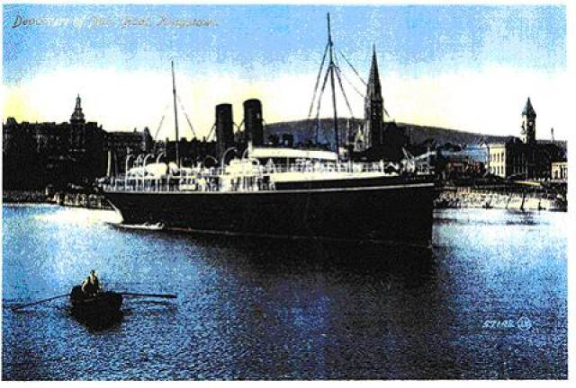 Book Launch: The Last Voyage of the Leinster - Dun Laoghaire Club Tonight, 9 November