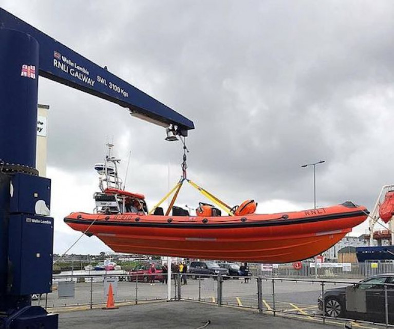 RNLI Galway's inshore boat