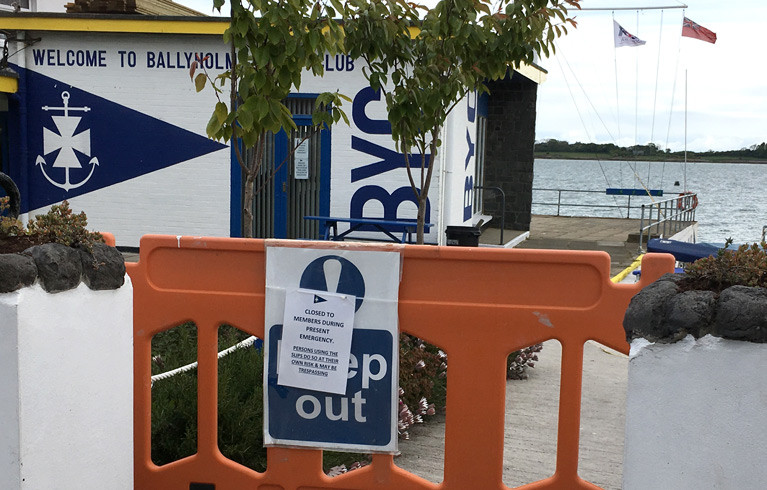 Ballyholme Yacht Club Ready for Return to Sailing on Belfast Lough
