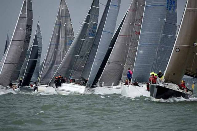 Rick Tomlinson captures a busy start at the 2016 IRC National Championship