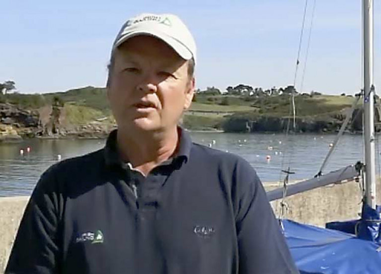 Irish Sailing CEO Harry Hermon