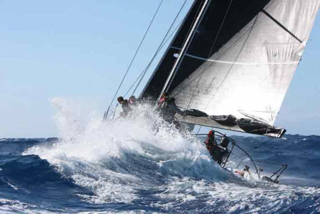 Tough conditions at the start of the RORC Caribbean 600