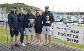 The winning Animal crew at Kip Marina