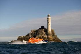 Baltimore Lifeboat Carries Out Medevac From Sherkin Island