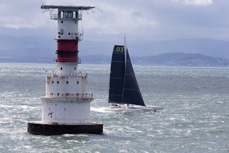 The Kish lighthouse on Dublin Bay - The Crusing Association of Ireland will visit the Light on July 25th