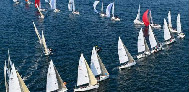 Three races were sailed at Spi Ouest Regatta today