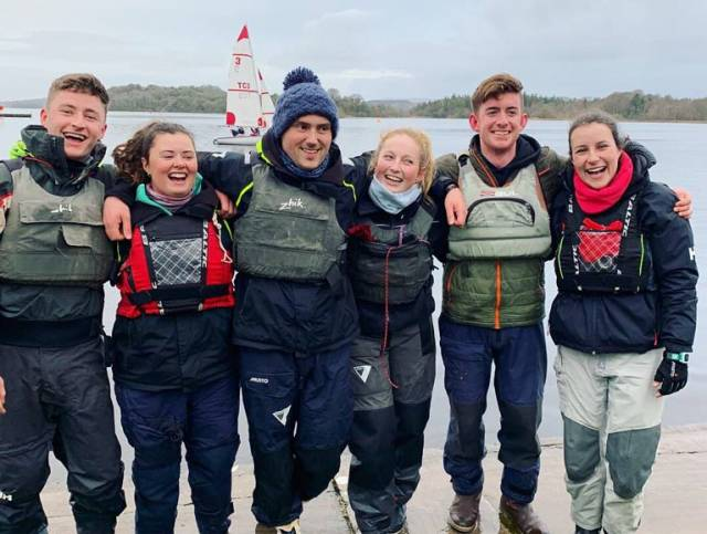 UCD winners - The team consisted of helms Jack Higgins, Patrick Cahill, Daniel Raymond and crews Alanna Lyttle, Lucy McCutcheon and Katie Cassidy