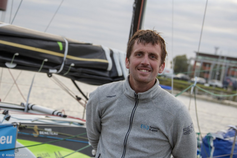 Top form - Irish solo sailor Tom Dolan