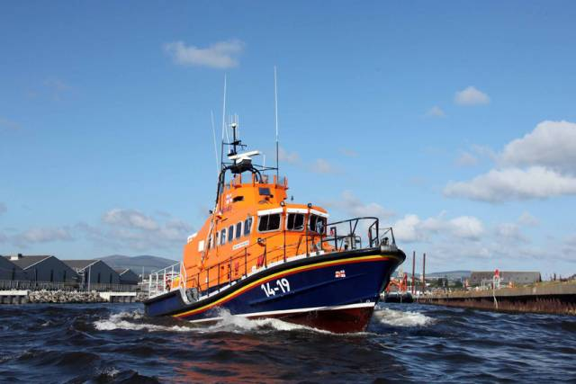 Arklow RNLI's all-weather lifeboat Ger Tigchlearr