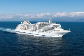 New flagship: Silver Muse is the leadship of a new Silver 'Spirit' class operating  at the top end of the luxury cruise market
