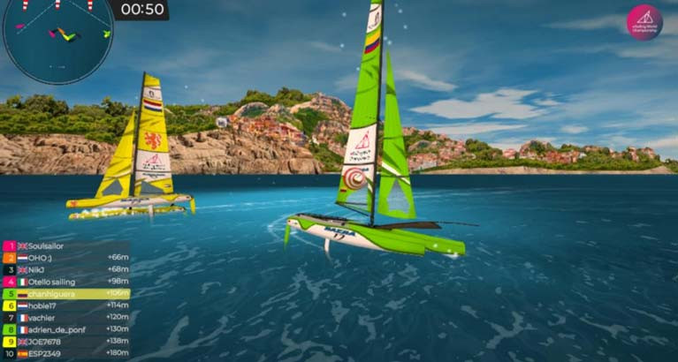 Virtual Regatta Esailing Game Gets Olympic Class Regatta Sites
