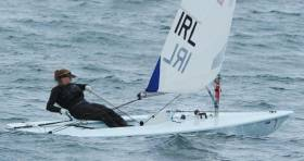Aoife Hopkins has continued on top form at the Laser Radial Women's Under 21 Euros at Douarnenez today.