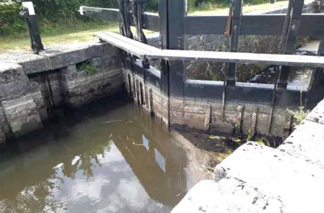 Water Levels Low on Grand Canal System