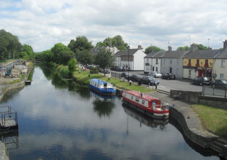 File image of the Grand Canal at Sallins, Co Kildare