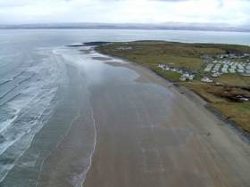 Rossnowlagh Beach is a popular spot for beginner surfers