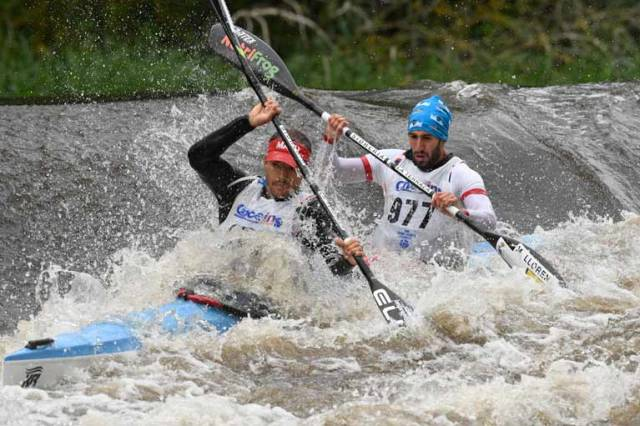 Going Gets Tougher at Liffey Descent Canoeing Race