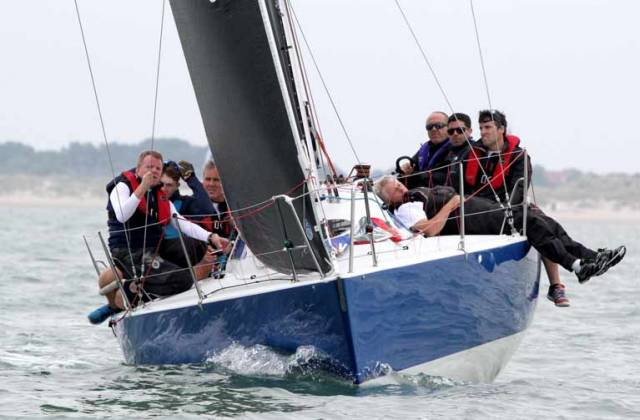 Howth Yacht Club's Dave Cullen has clinched the overall lead of the Half Ton Classics Cup