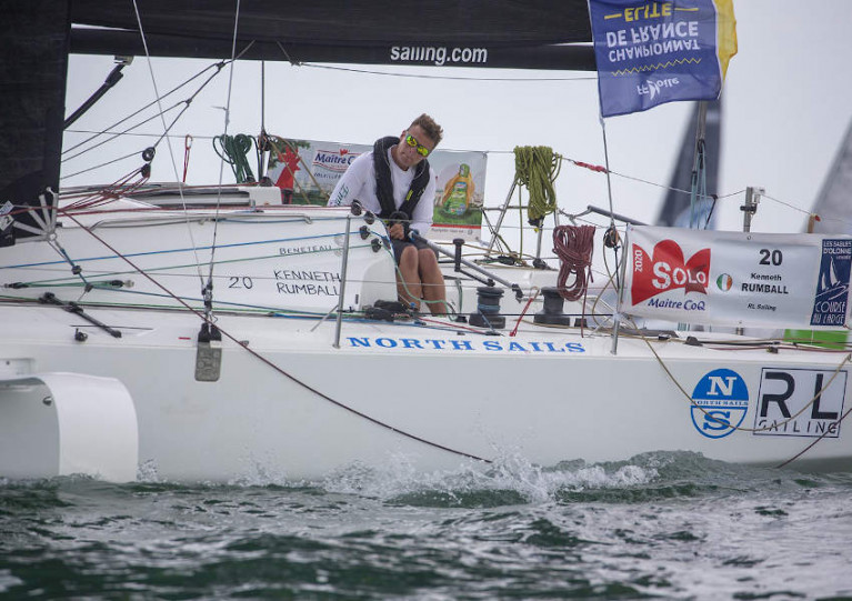 Ireland's Kenny Rumball is a rookie entry in Sunday's Figaro Race