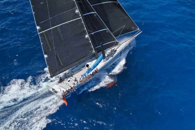 George David's Rambler 88 is no stranger to Irish waters - though the Maxi's latest escapades were in the English Channel