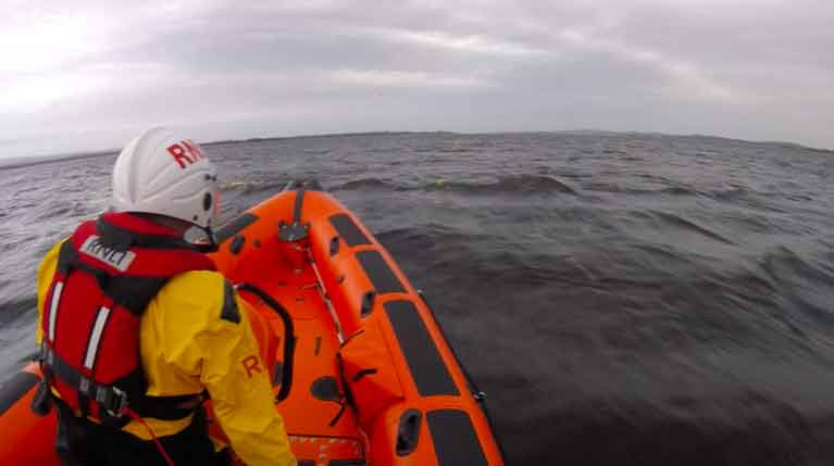 RNLI Lough Derg look for two kayakers