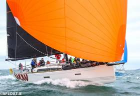 George Sisk's WOW from the Royal Irish Yacht Club will race in the Sovereign's Cup Coastal Division