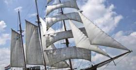 A 55-metre tall ship Anna Marjorie currently based in the Netherlands is expected to dock in Cork during the Autumn and become a floating hotel and restaurant.