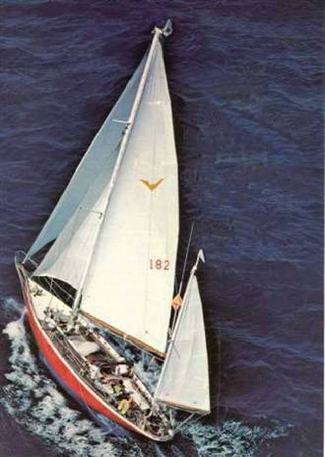 The 1905-built Iolaire in her glory years under Don Street's ownership, when she cruised extensively in the Caribbean, crossed the Atlantic seven times, and took part in the Golden Jubilee Fastnet Race of 1975