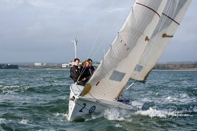 Royal Cork Yacht Club 1720 Under 25 Sailing Academy in Winter Training Mode