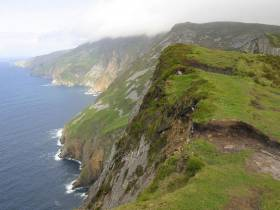 Slieve League on the southern Donegal coast is part of the International Appalachian Trail