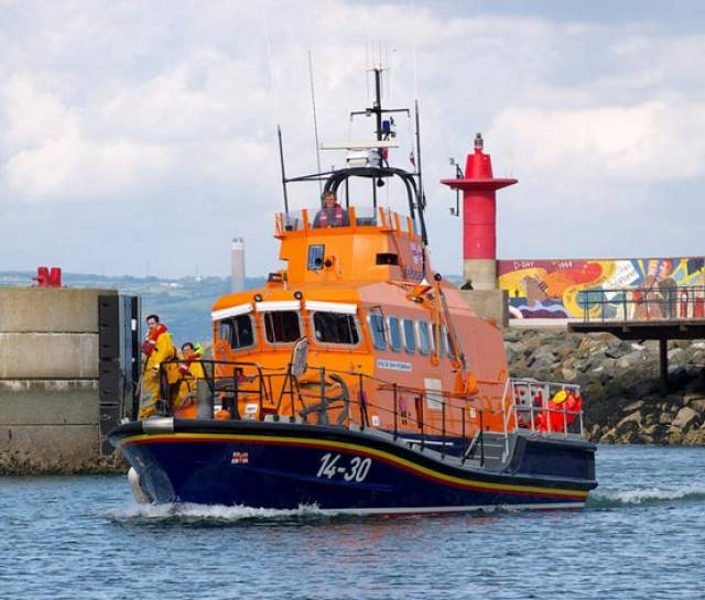 Larne RNLI's all-weather lifeboat